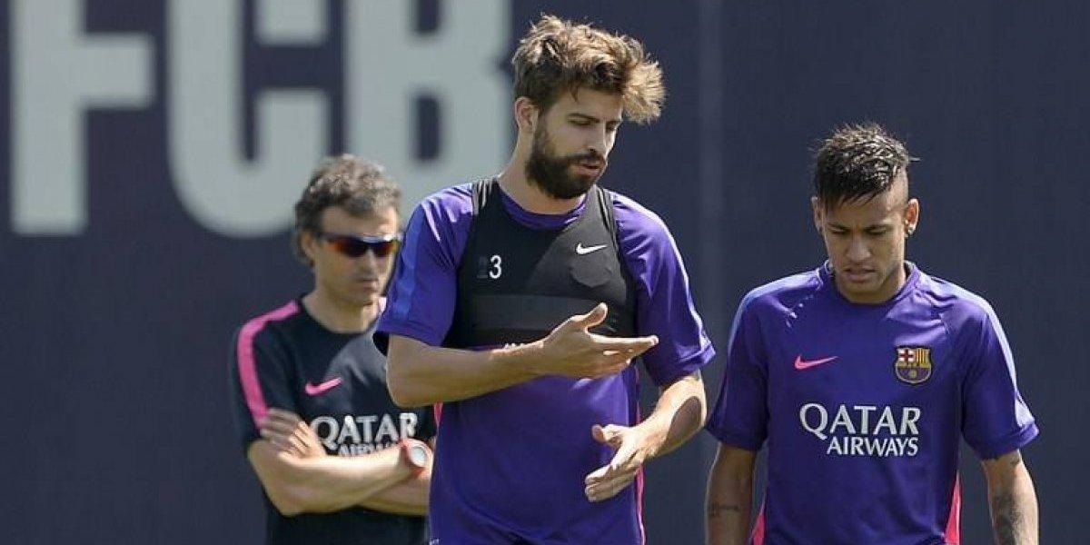 """Neymar: """"Le dije a Piqué que no subiera la foto"""""""