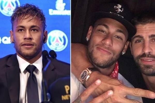 Neymar: Ni Piqué sabía lo que haría