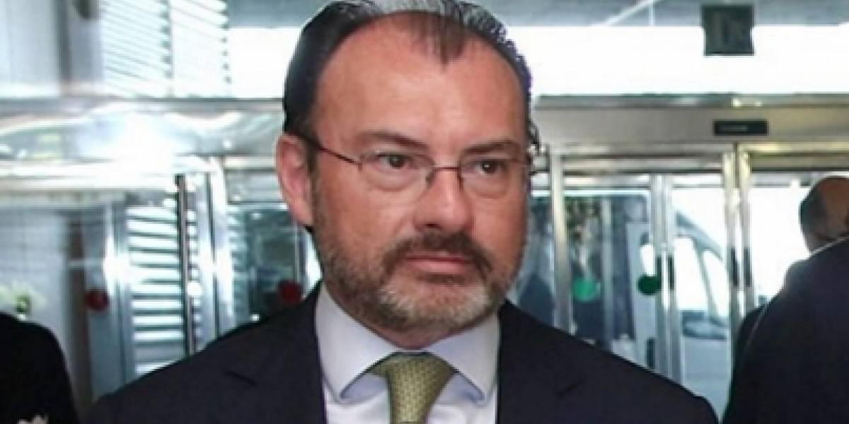 México reitera su apoyo al pueblo venezolano: Luis Videgaray