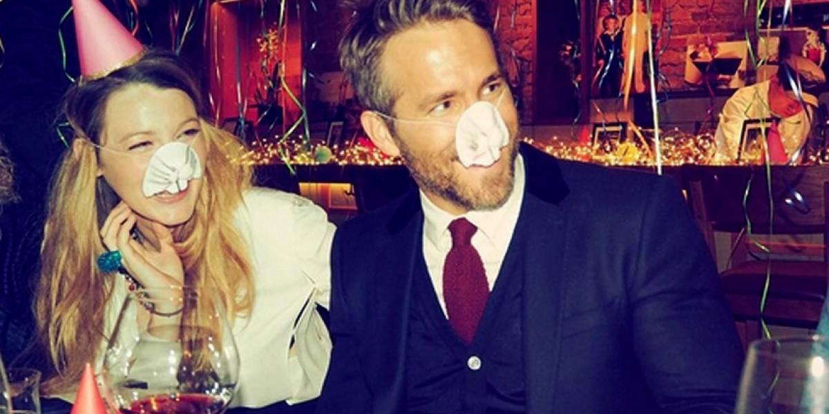 Ryan Reynolds diz que Blake Lively o levou ao hospital quando estava em trabalho de parto