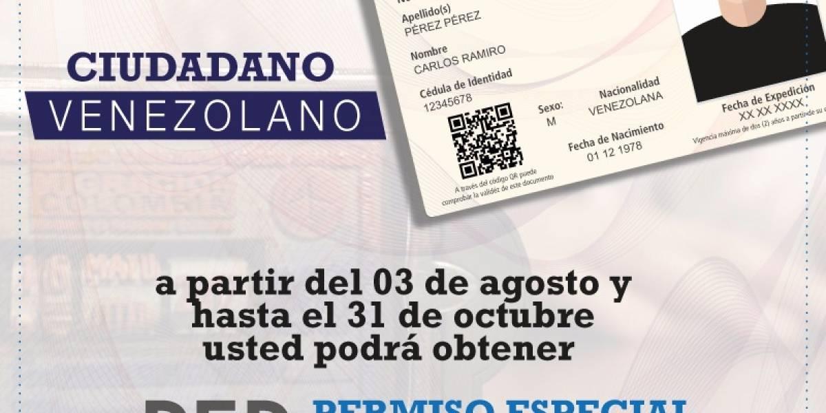 ¿Cómo puede un venezolano legalizar su permanencia en Colombia?