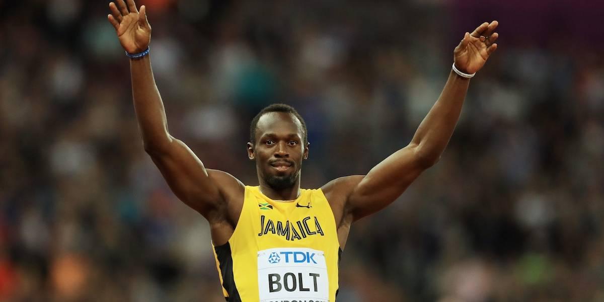 Usain Bolt empieza con el pie derecho el Mundial de su retiro