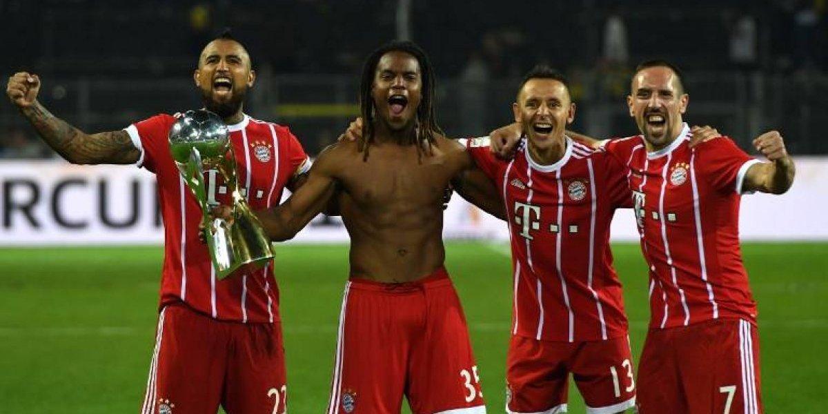 Minuto a minuto: Así vivimos la consagración del Bayern de Vidal en la Supercopa alemana