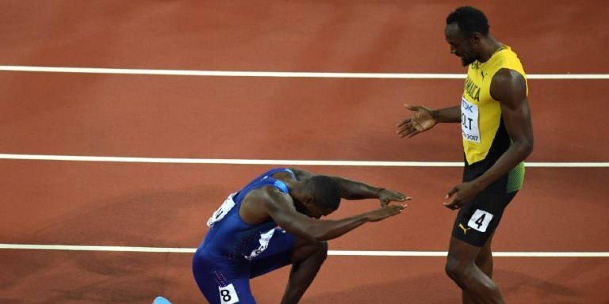 Usain Bolt pierde en su último mundial... Gatlin se quedó con la final de los 100 metros