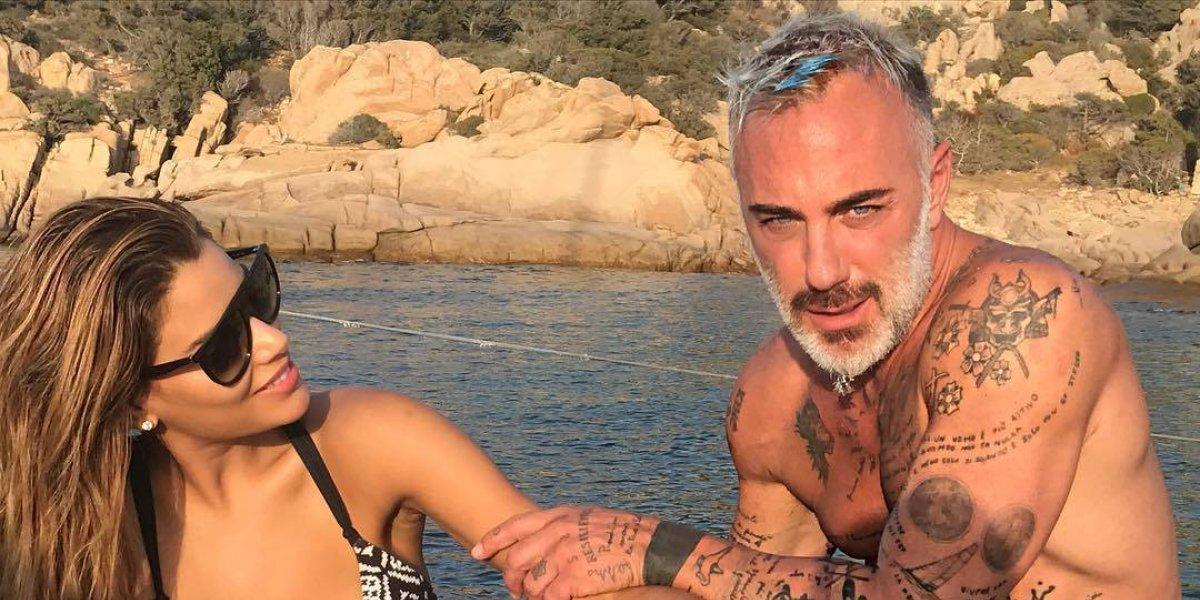 Gianluca Vacchi celebra cumpleaños con su nueva novia