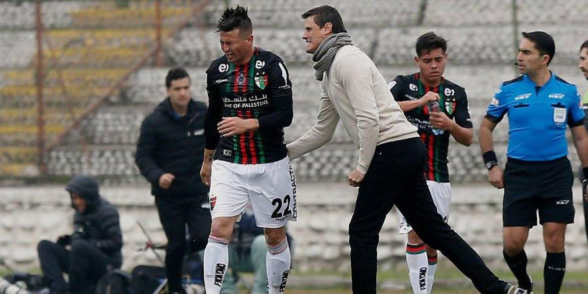 """La satisfacción de Cavalieri en Palestino: """"Por suerte el Pájaro juega para nosotros"""""""