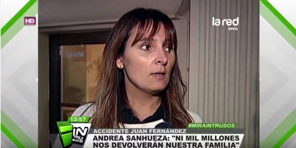 La dura reflexión de la viuda Roberto Bruce a seis años del accidente de Juan Fernández