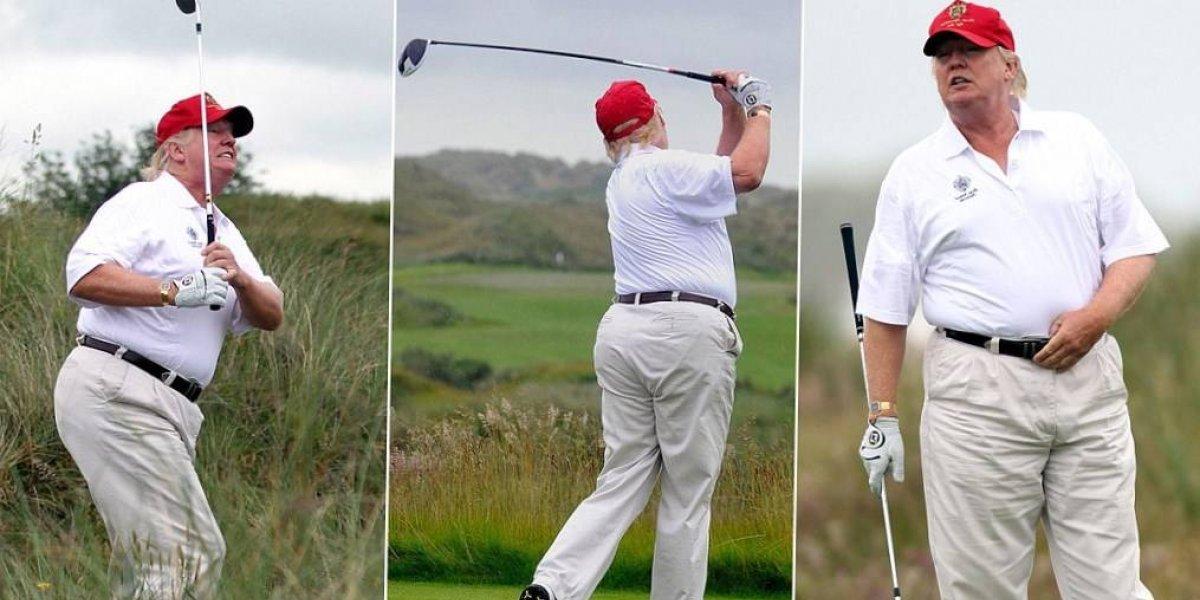 Trump se va de vacaciones en medio de crisis en Casa Blanca