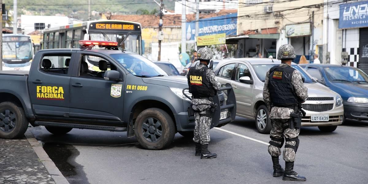 Força Nacional passa a apoiar polícia rodoviária no Rio de Janeiro