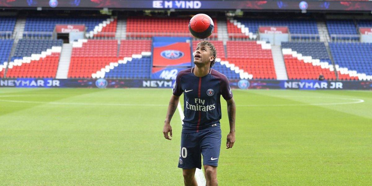 Neymar no podrá debutar con el PSG
