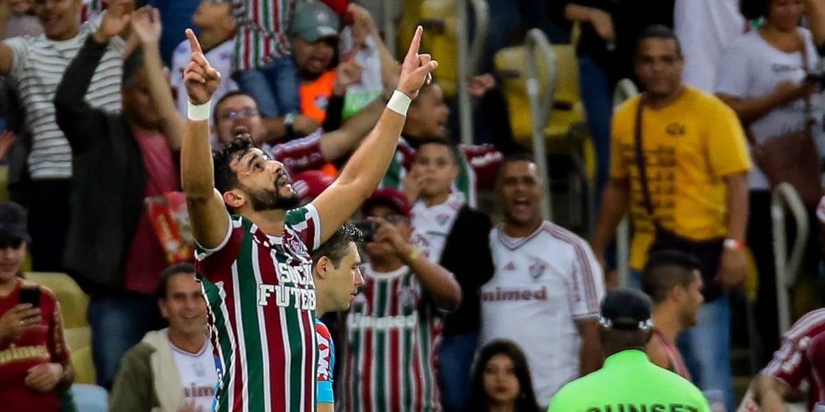 Fluminense aceita negociar Henrique Dourado com o Corinthians