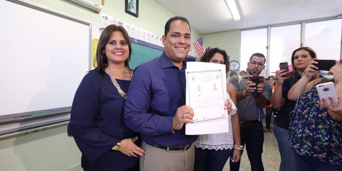 Carmelo Ríos pide voto para que Guaynabo