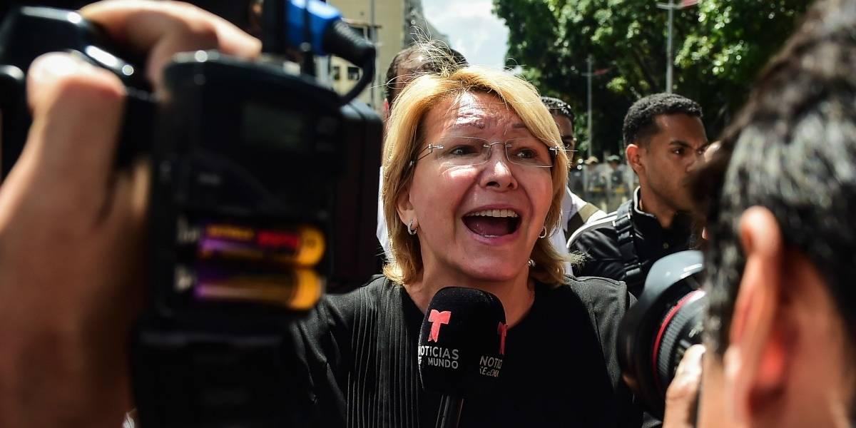 Venezuela: Fiscal general Luisa Ortega es removida del cargo por la Asamblea Constituyente