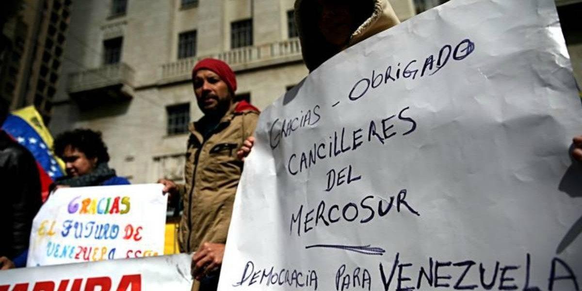 """Mercosur aplica """"cláusula democrática"""" y suspende indefinidamente a Venezuela"""