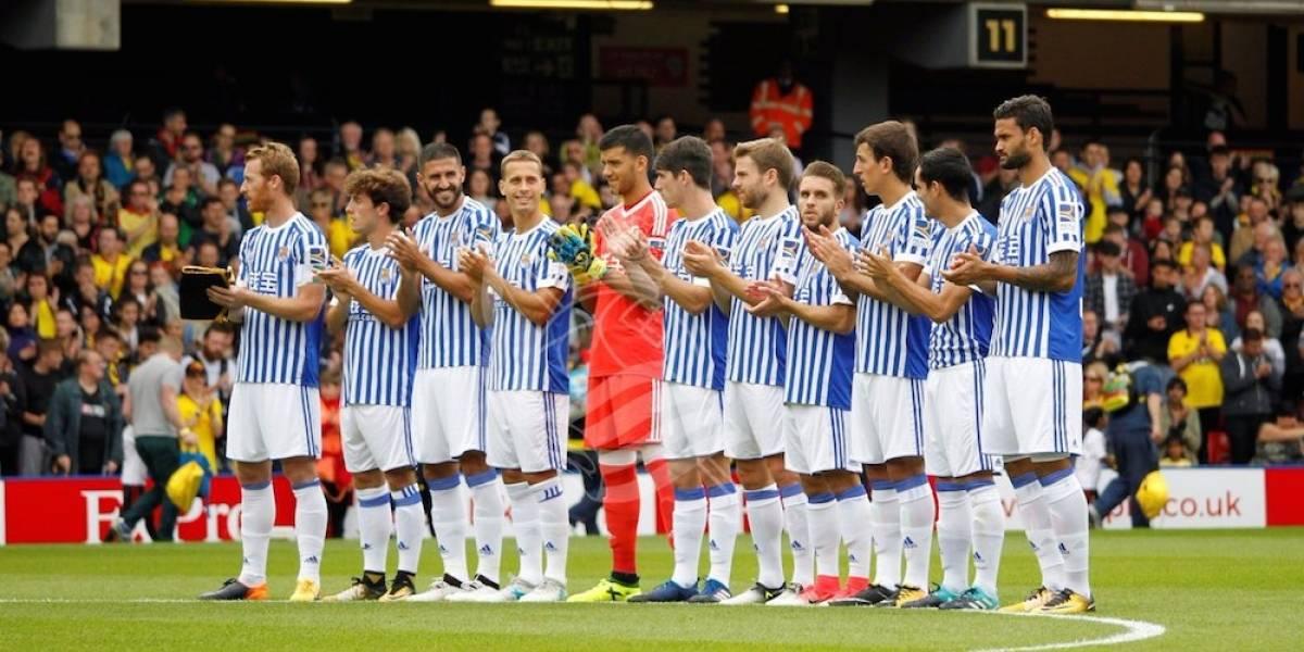 Sin Carlos Vela, Real Sociedad empata con Watford