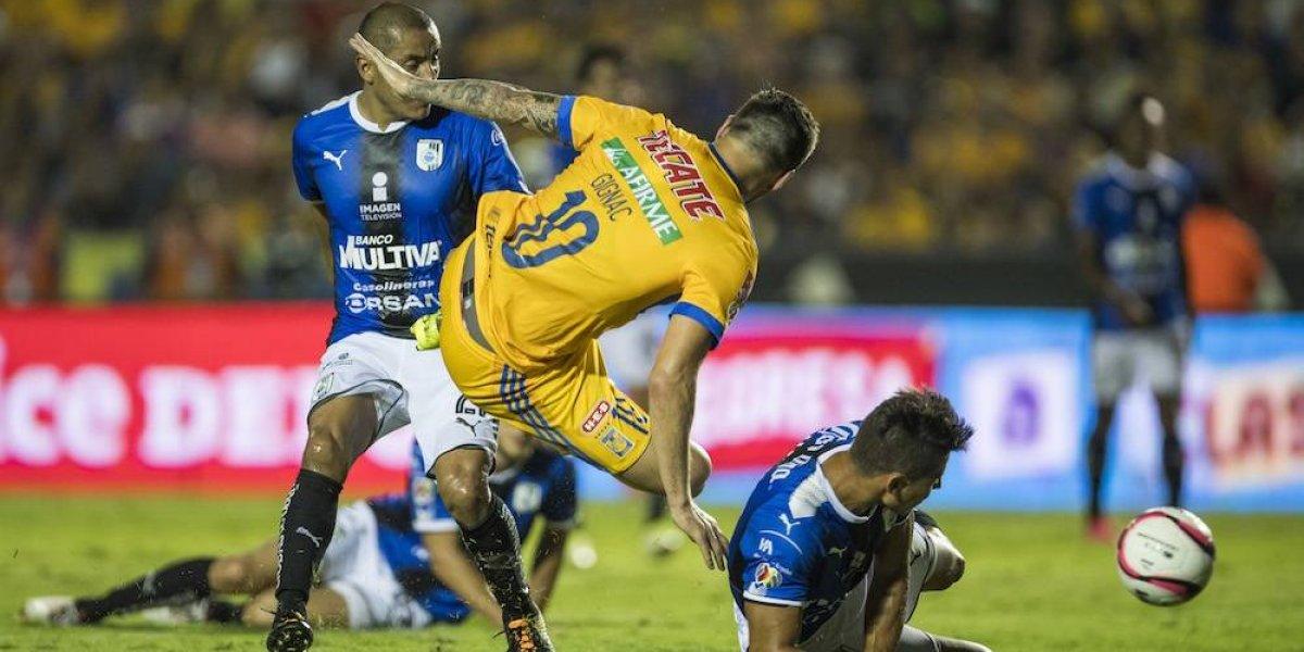 Querétaro sale vivo del Volcán al conseguir empate con Tigres