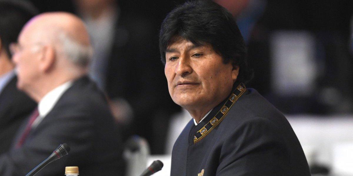 """Evo Morales llama a Chile al diálogo: """"Es siempre el mejor camino para resolver nuestras diferencias"""""""