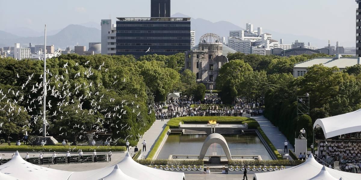 Japoneses conmemoran 72 aniversarios del lanzamiento de la bomba de Hiroshima