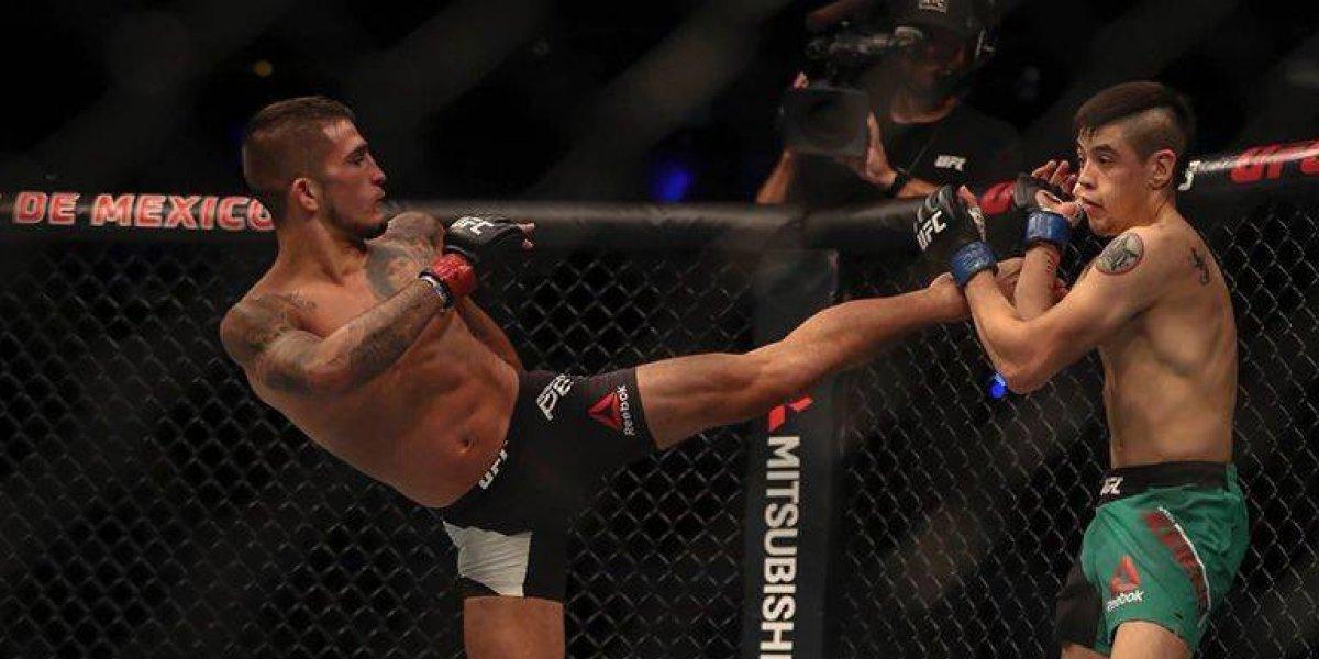Brandon Moreno cae ante Sergio Pettis en duelo estelar de la UFC