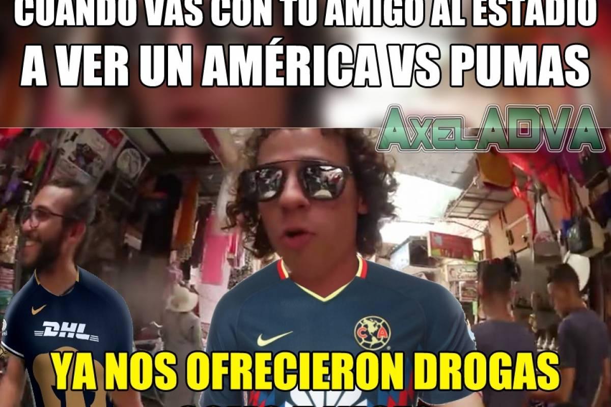 Memes Del America Pumas