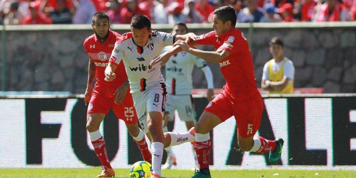 El Toluca de Osvaldo González sigue en racha y es puntero en México