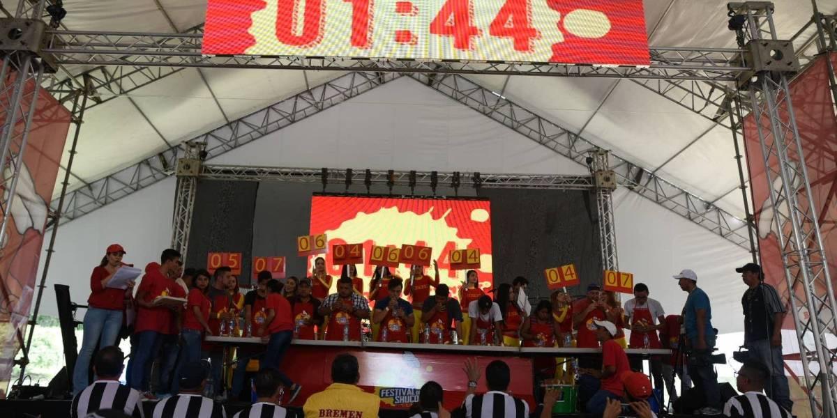 ¡26 shucos definen a los primeros lugares en el 4to. Festival del Shuco!
