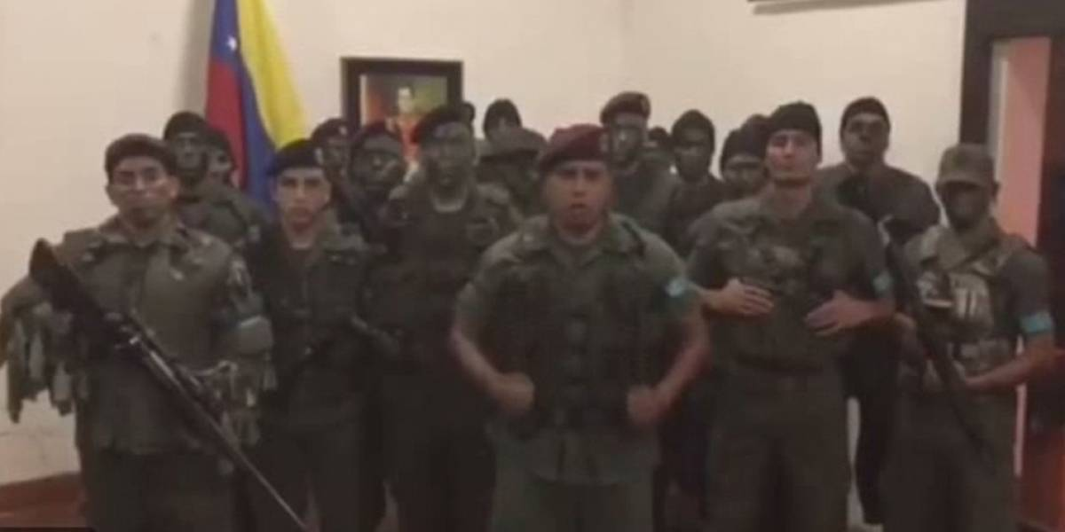 Grupo militar se subleva en Venezuela