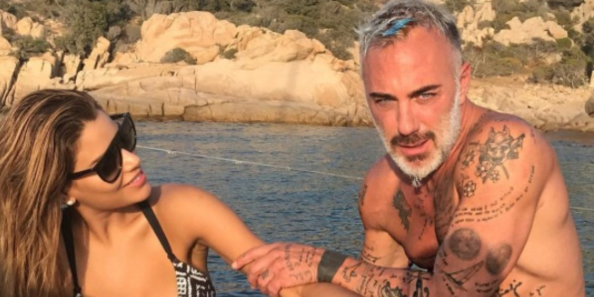 Con estas románticas fotos, Ariadna Guitérrez confirma su relación con Giancluca Vacchi