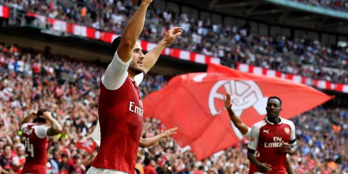 Así fueron los penales ABBA, con los que Ospina fue campeón con Arsenal