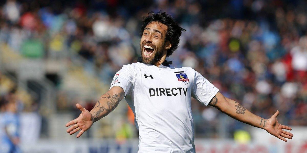 """A Colo Colo no le penó la falta de un """"9"""" y de la Mano de Valdivia venció a O'Higgins"""