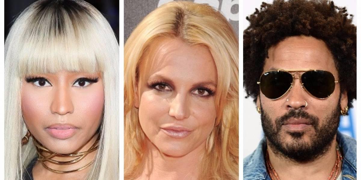 Estos artistas tuvieron fallas de vestuario y mostraron de más en pleno concierto