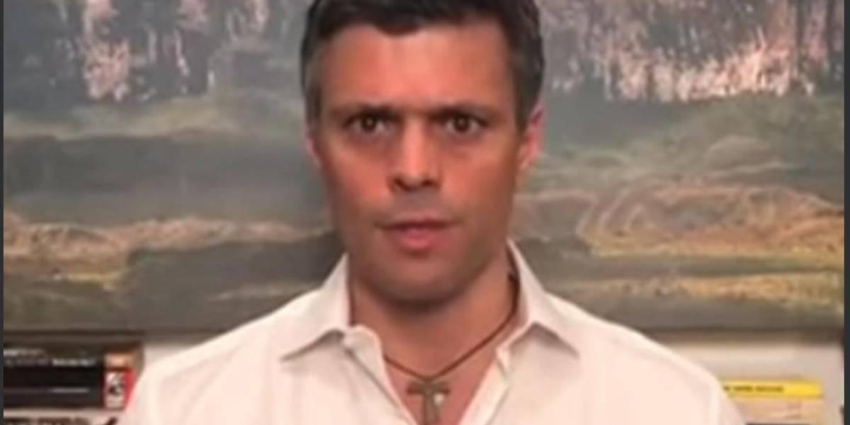 Trasladan a Leopoldo López de nuevo a su residencia bajo arresto domiciliario