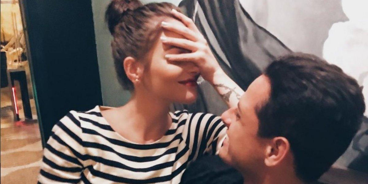 Chicharito se declara enamorado de Andrea Duro y lo presume