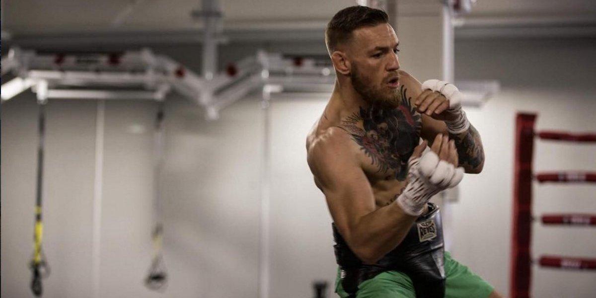 Sparring de McGregor lo abandona por falsear fotos