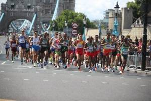 Maratón en el Mundial
