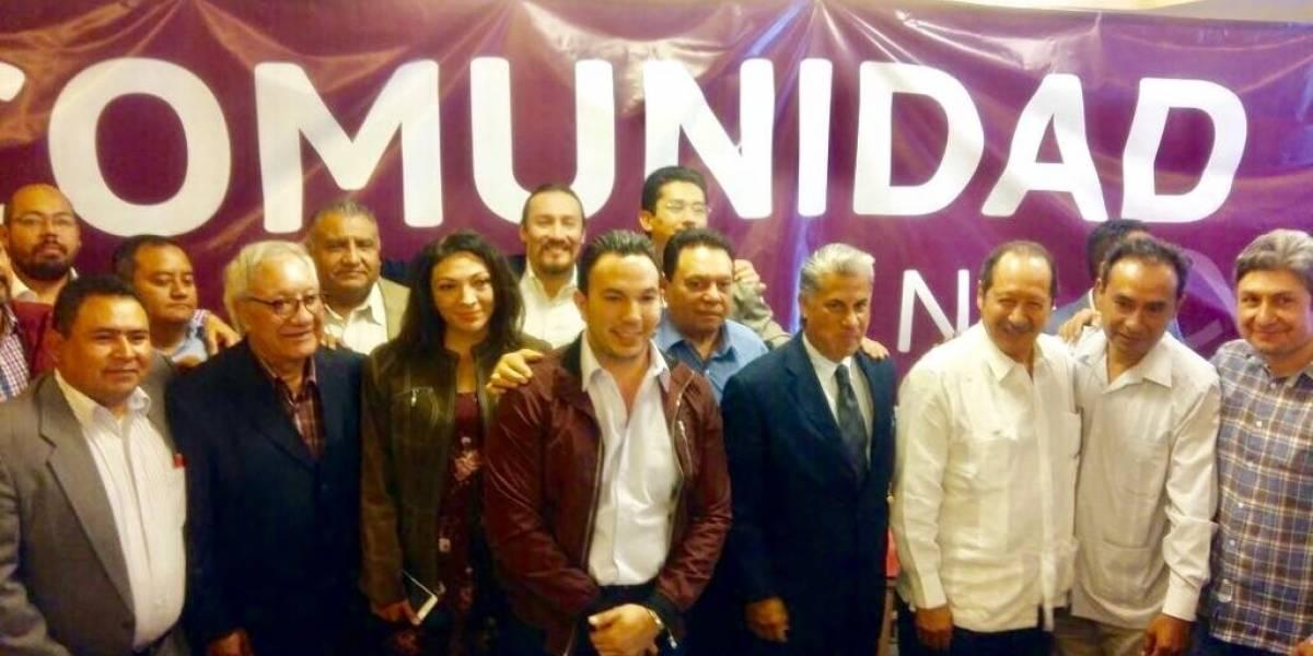 Líderes del PRD se suman a la candidatura de Monreal en la CDMX