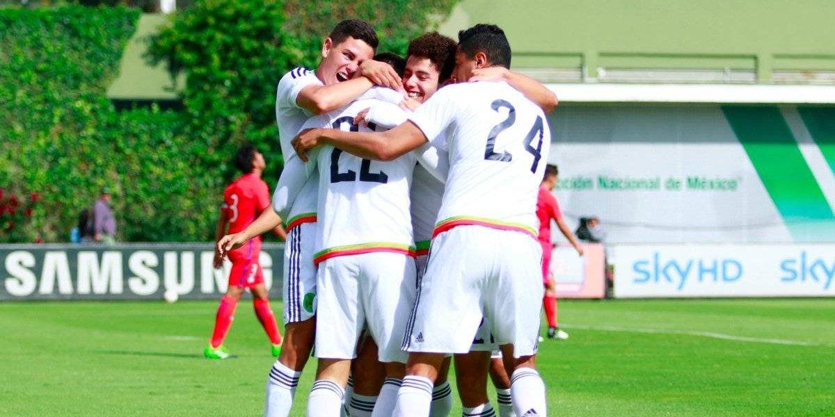 Tricolor Sub-17 gana el Torneo Cuatro Naciones
