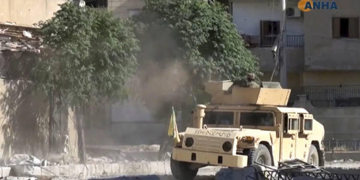 Siria acusa al gobierno estadounidense de utilizar armas química en Al Raqqa