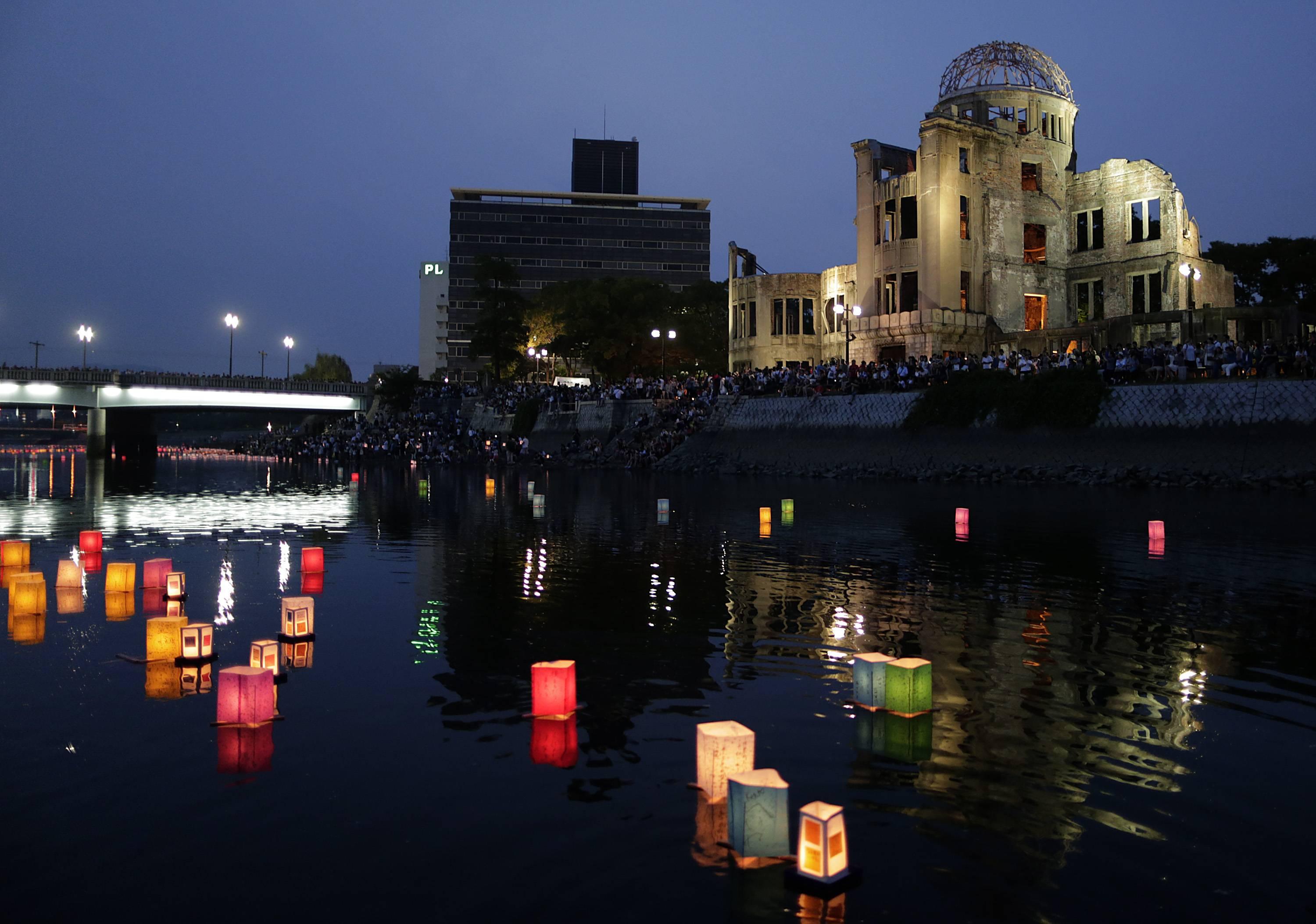 Conmemoración del ataque a Hiroshima en 2016.