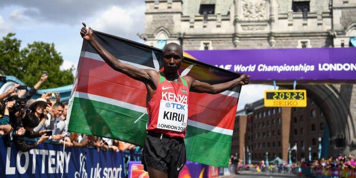 Keniata Kirui gana el Maratón, mexicano Ramos finaliza en lugar 70