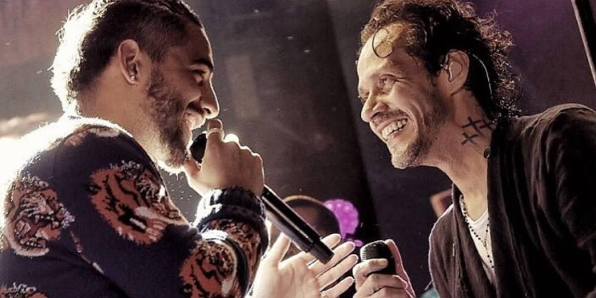 El romántico mensaje de Maluma a Marc Anthony