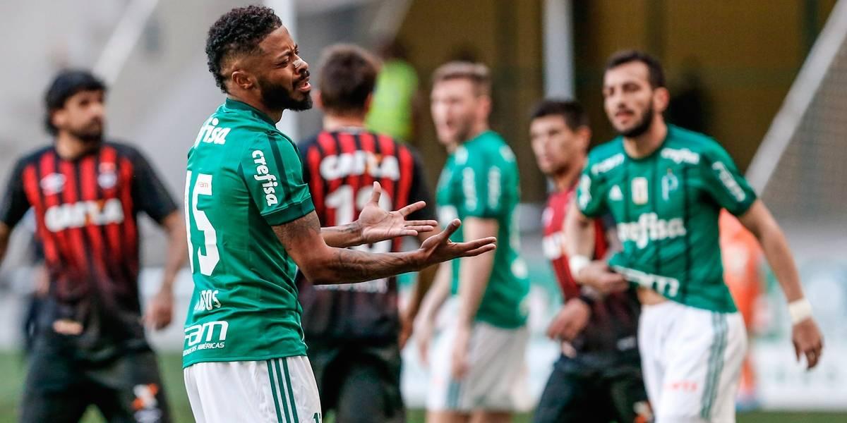 Atlético-PR, Coritiba e Palmeiras foram os mais prejudicados no Brasileirão, segundo a CBF
