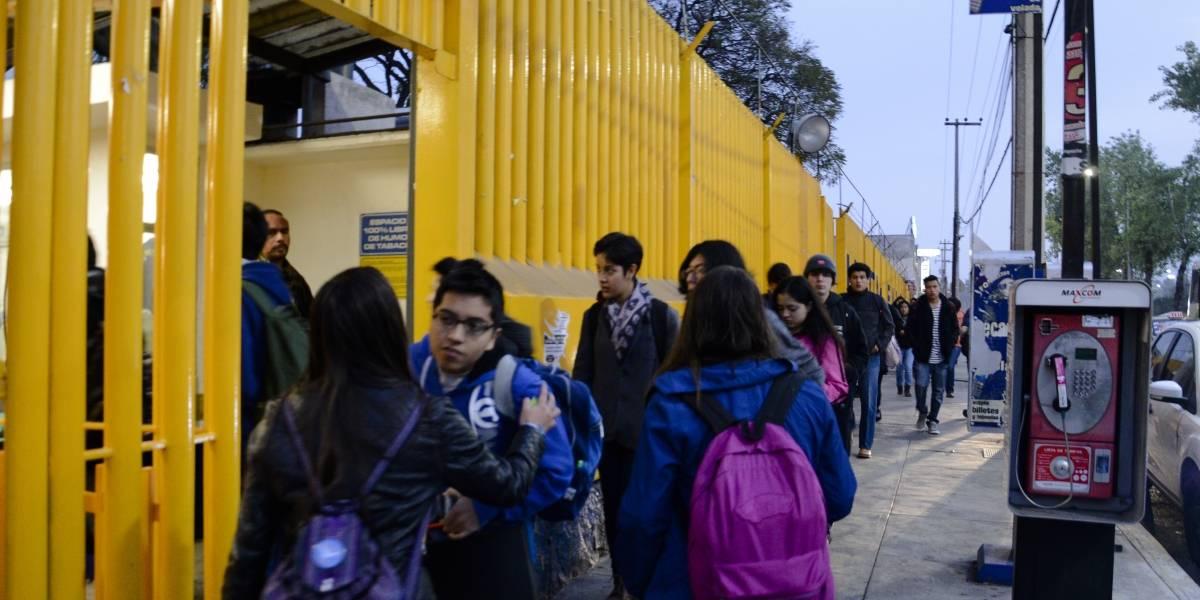 Este lunes inician clases 350 mil alumnos de la UNAM