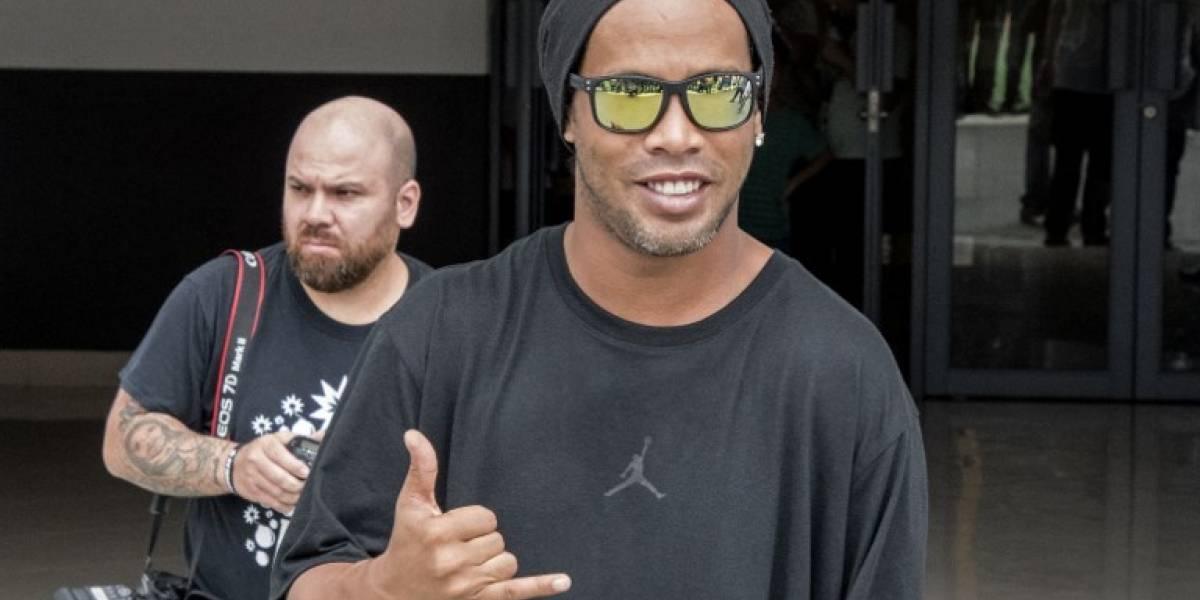"""Ronaldinho: """"Lo que importa es que Neymar esté feliz"""""""