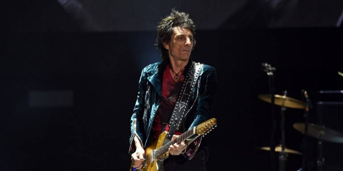 Ronnie Wood, integrante de The Rolling Stones, revela que tuvo un cáncer de pulmón