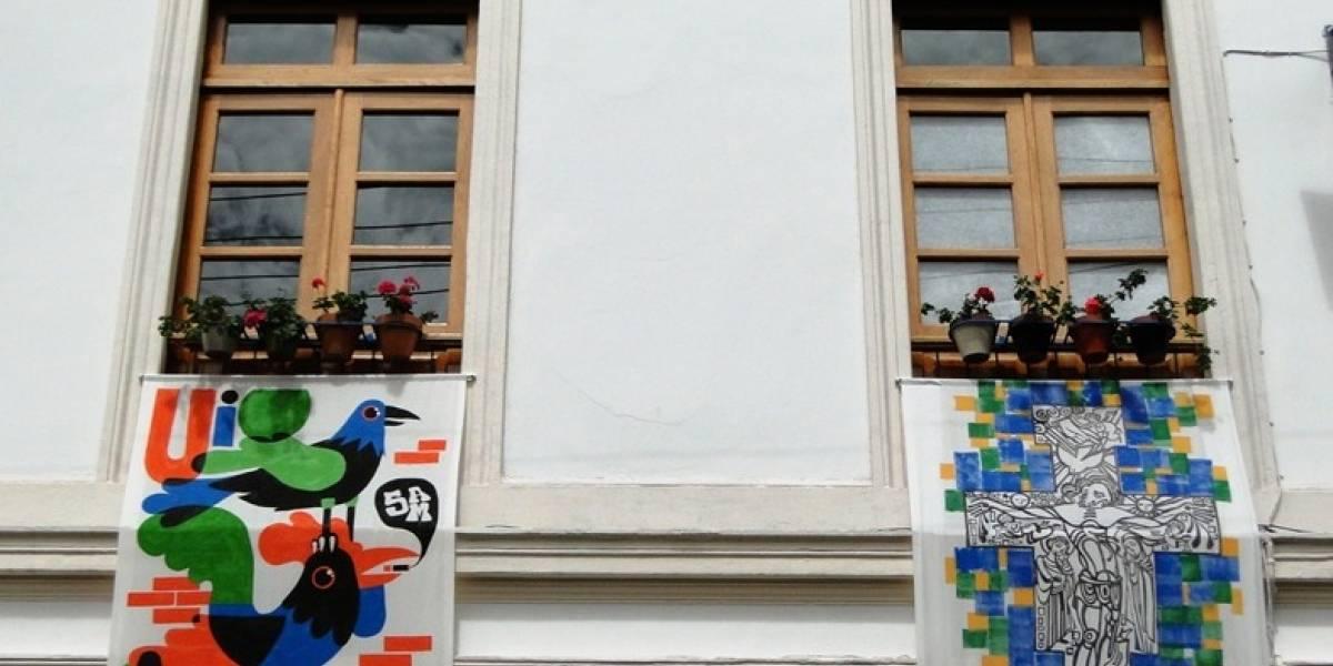 Ventanales de San Marcos decoran el centro de Quito
