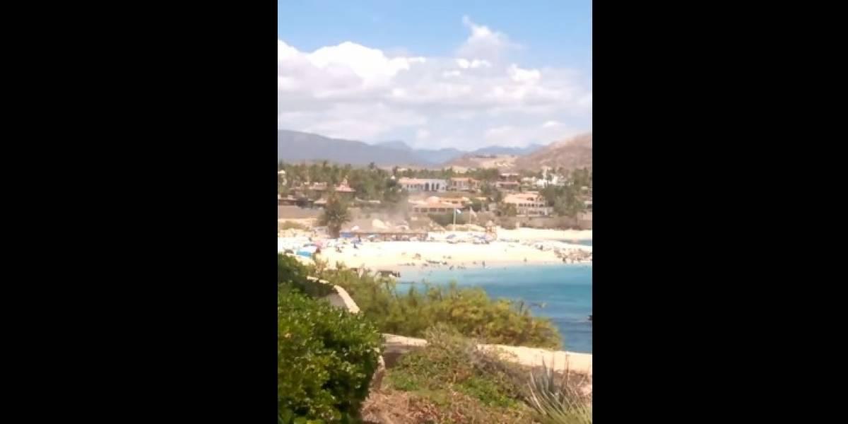 Balacera en playa de Los Cabos deja tres muertos y dos heridos