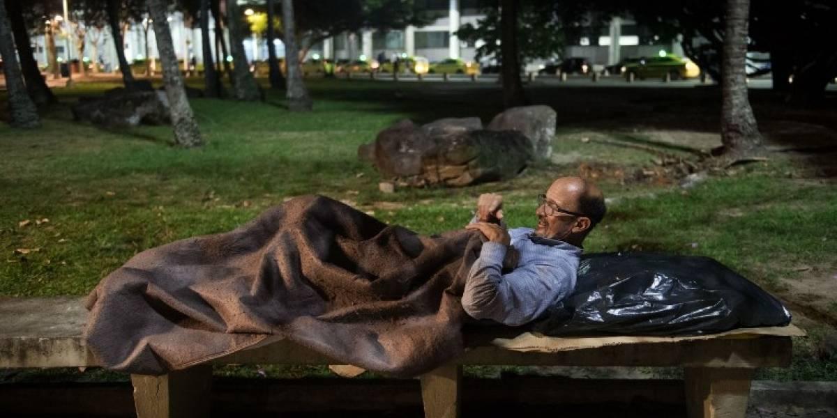Ejecutivos en situación de calle: la fuerte crisis que afecta a Río de Janeiro