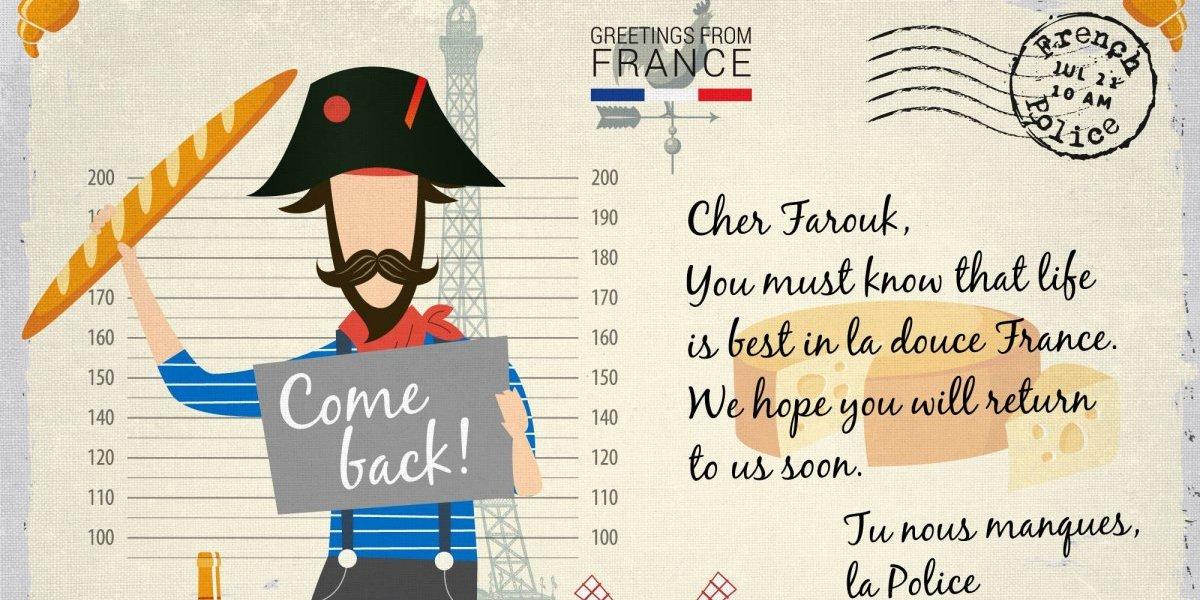 """""""¡Te queremos de vuelta este verano!"""": las postales veraniegas con las que Europol planea capturar criminales"""