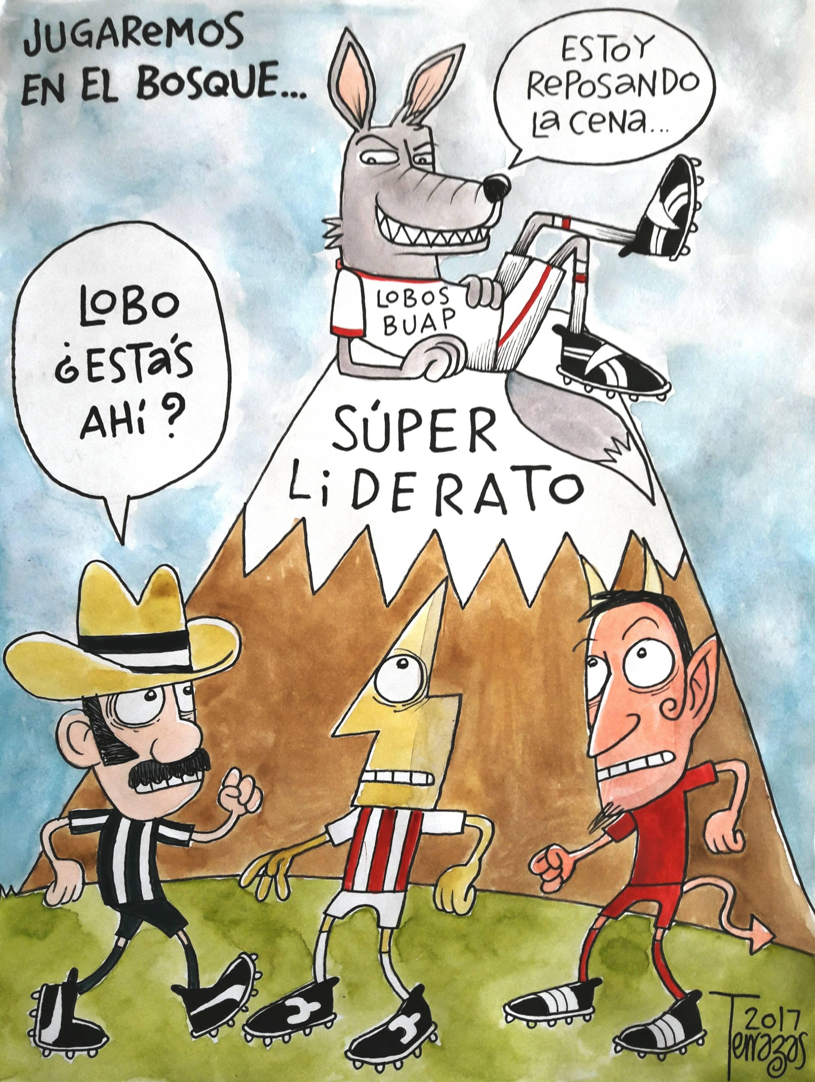 El sorpresivo liderato de Lobos BUAP, en el cartón del día